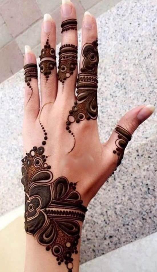 Designer Mehndi Design
