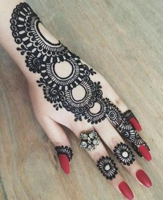 Image of Mehndi Design