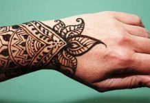 Mehndi Design for Dulha