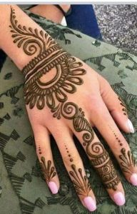 Mehndi Designs Easy and Simple