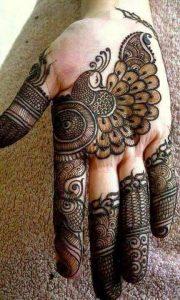 Peacock Mehndi Designs