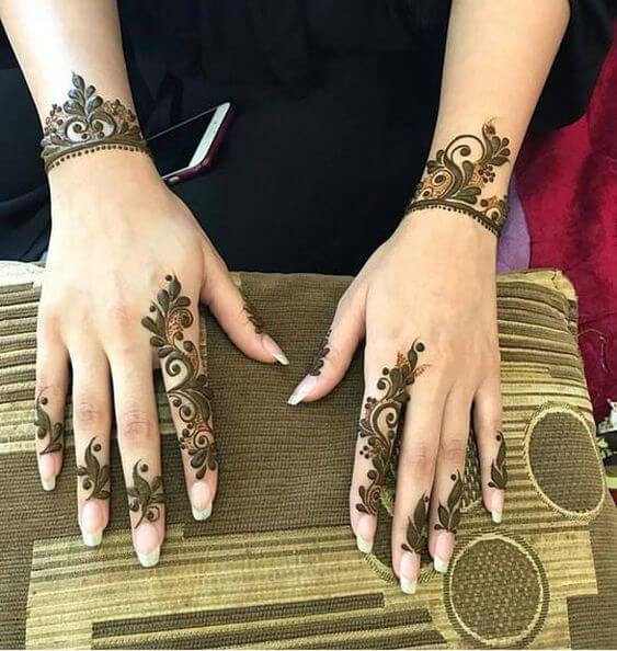 Unique Pakistani Mehndi Designs Photos for Eid