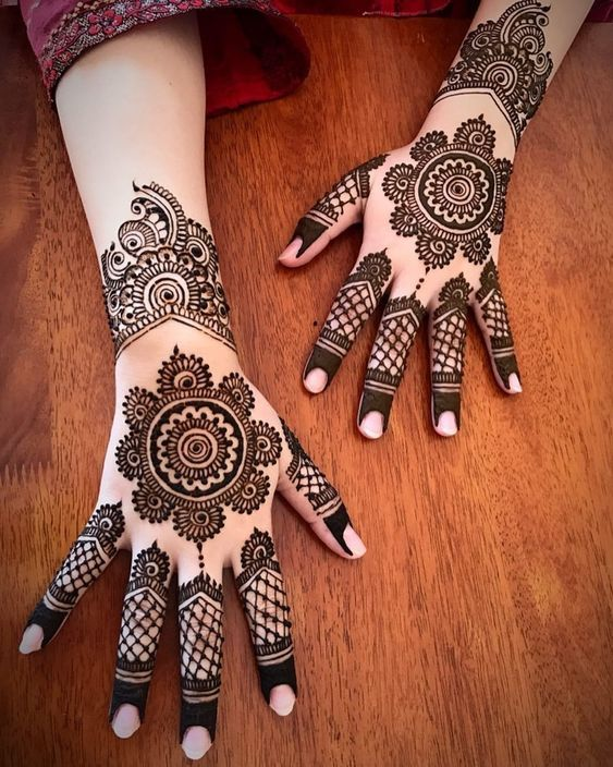 Mehndi Designs for Engagement