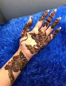 Mehndi Designs for Engagement