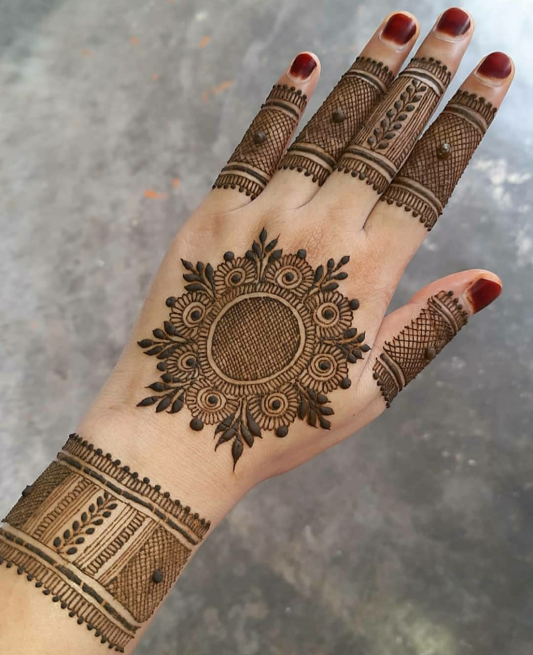engagement Mehndi designs