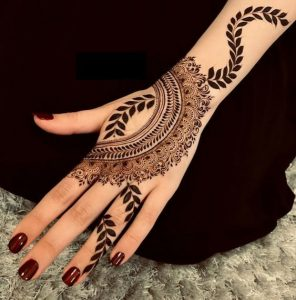 mehandi design in bail