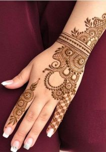mehndi design patti