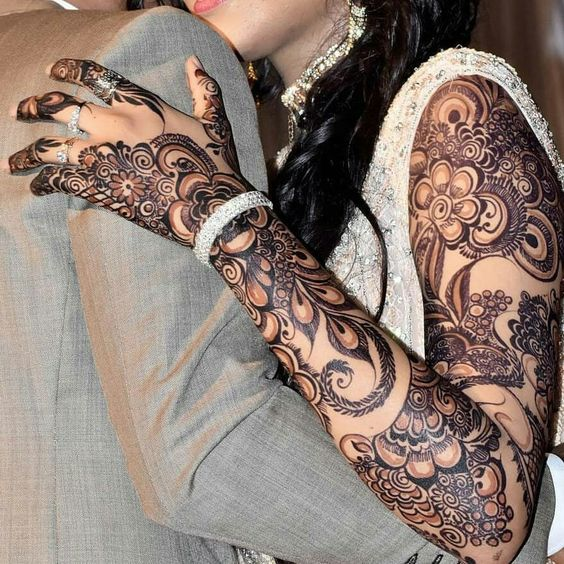 mehndi design indian wedding