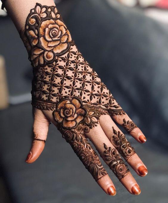 Rakhi Mehndi Design