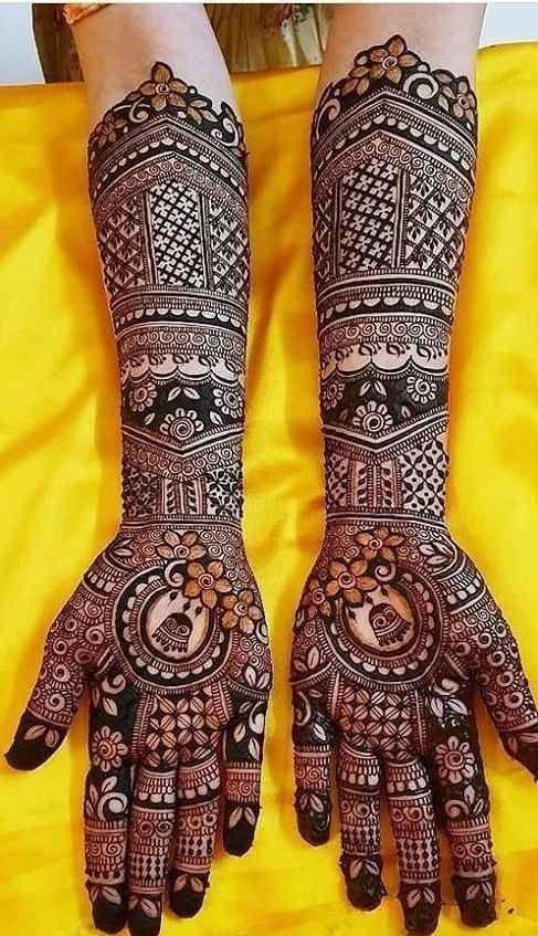 Henna Designs for Bride in Hyderabad