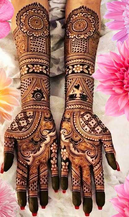 Mehndi designs for Hyderabadi's