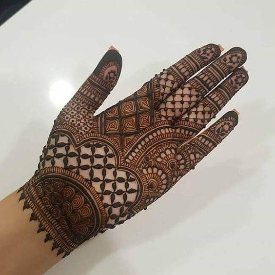 Hyderabadi Hanna designs