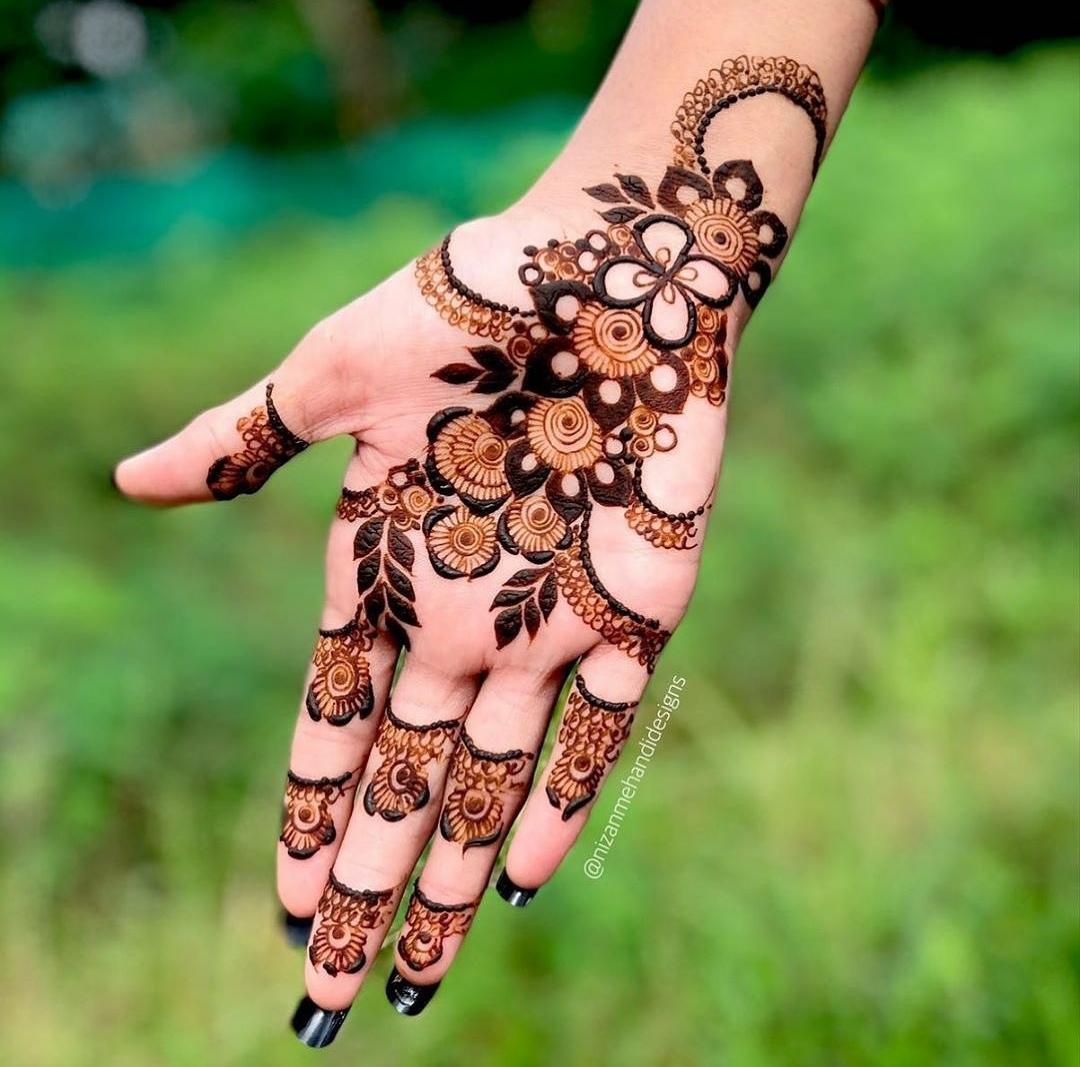 Deepavali Henna designs